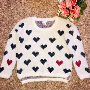 Sweaters - 🖤❤️ Super Soft Heart Sweater ❤️🖤